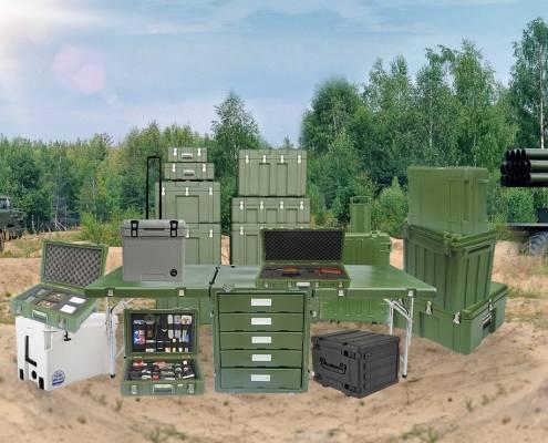 Rotational Molding Application - Military Box 1